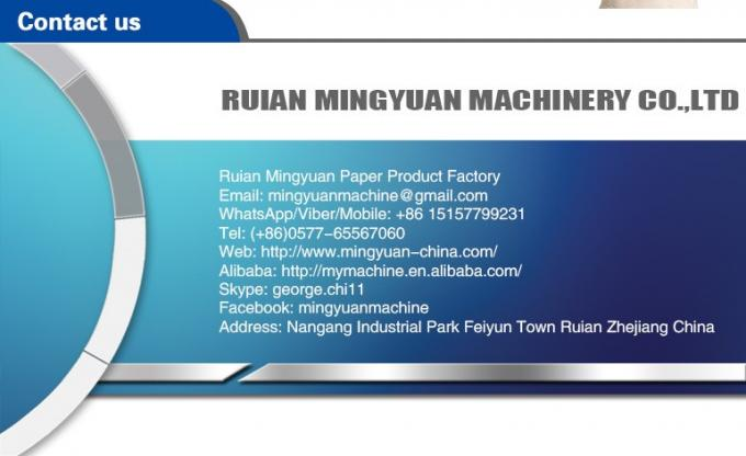 PLC Control Disposable Tea Cup Machine , Tea Paper Cup Making Machine