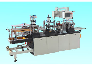 Çin Professional Plastic Lid Forming Machine For Ice Cream Cup / Coffee Paper Cup Distribütör