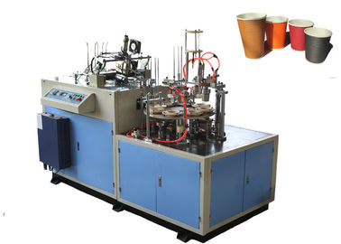 Çin Long Lasting Universal Paper Cup Sleeve Machine With Photocell Detection Fabrika