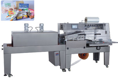 Çin Food Shrink Wrap Machine , Shrink Wrap Packaging Machine Low Heat Consumption Fabrika