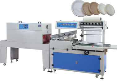 Çin 380V Automatic Shrink Wrapping Machine For Bottles , Shrink Wrap Equipment 50HZ - 60 HZ Fabrika
