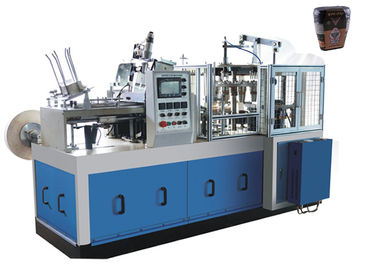 Çin Gear / Cam Transmission Tea Paper Cup Making Machine Energy Saving CE Certification Distribütör